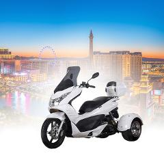Enjoy Las Vegas on an Icebear 100cc Trike All Day Rental