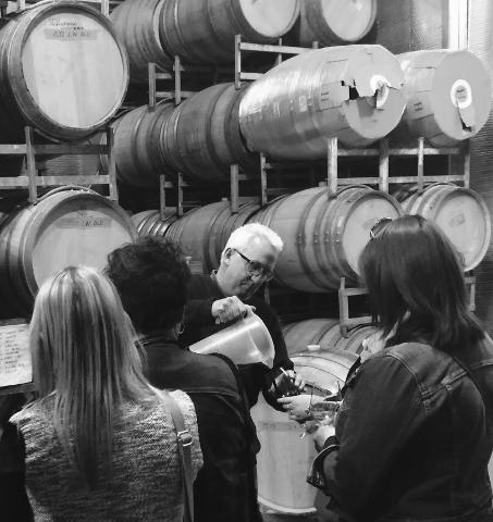 BARREL TASTINGS IN THE VALE EXPERIENCE