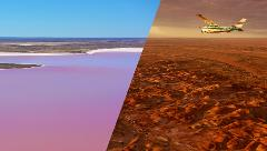 2 Hour Lake Eyre & Painted Hills Flight - William Creek