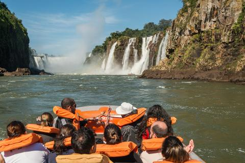 "Iguassu - Brazilian Side of the Falls + Boat Tour ""Macuco Safari"" (From Argentina)"