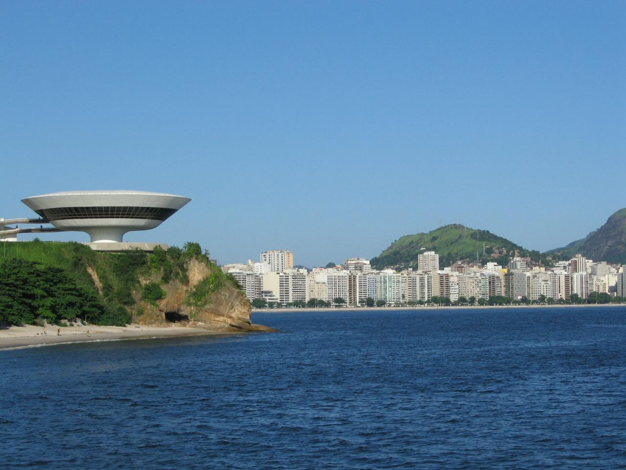 One Day in Niterói - Niemeyer Pathway, Contemporary Art Museum, Guanabara Bay Beaches, Santa Cruz Fort & Parque da Cidade - from Barra da Tijuca