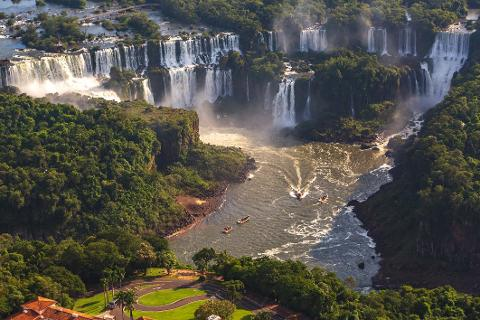 "Iguassu - Argentinian Side of the Falls + Boat Tour ""Gran Aventura"" (From Argentina)"