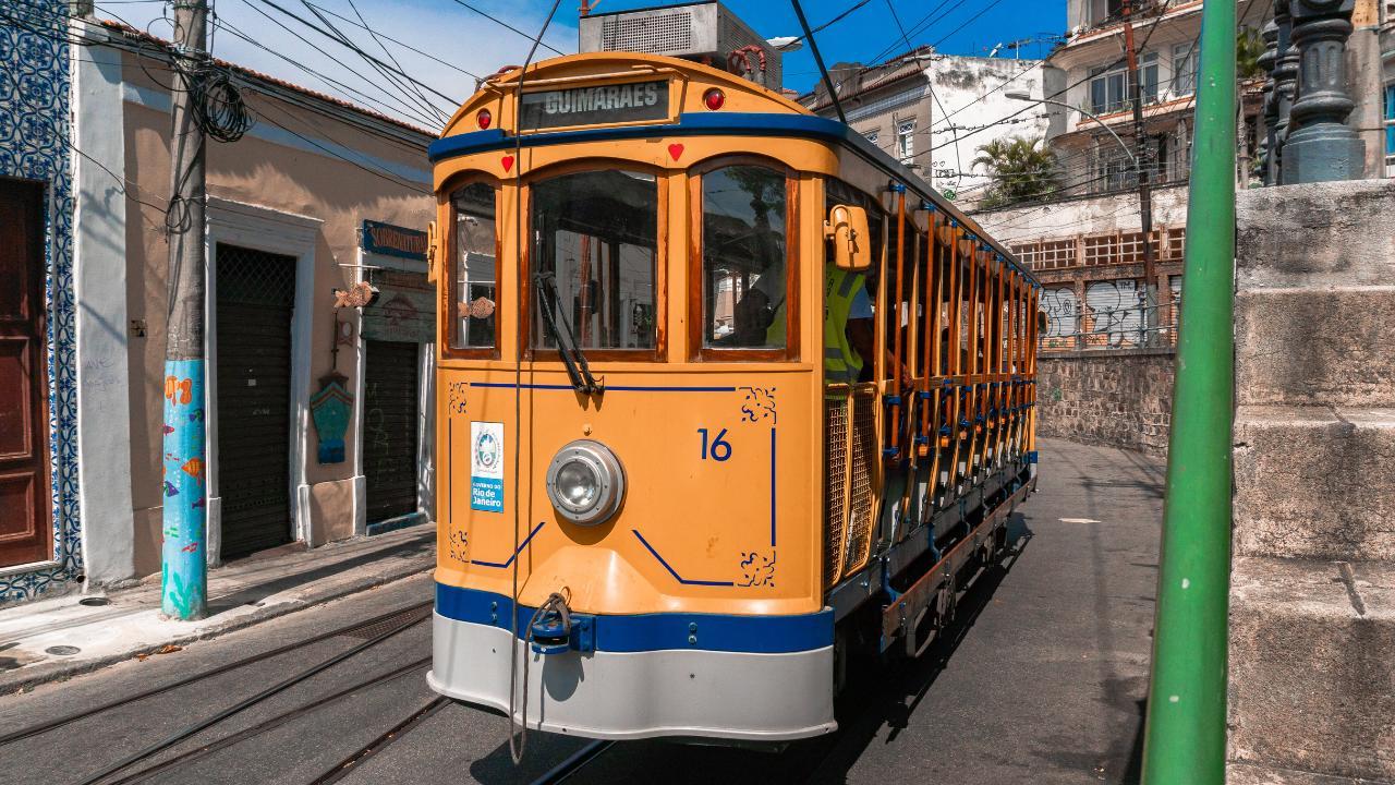 Santa Teresa, Lapa, and Cinelândia with Tram Ride and Selarón Steps