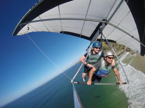 Hang Gliding or Paragliding in Rio de Janeiro