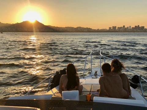 Guanabara Bay Sunset Boat Tour