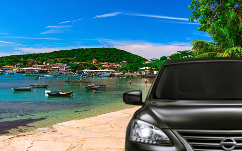 Transfer Rio x Buzios with bilingual Driver Guide - Sedan 1-3 PAX - Price per Vehicle