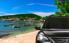 Transfer Rio x Buzios with bilingual Driver Guide - Sedan 1-3 PAX - Price per Vehicle