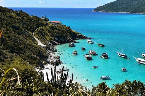 Un día en Arraial do Cabo con Paseo en Barco y Almuerzo