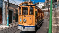 Santa Teresa, Lapa, and Cinelândia with Tram Ride and Selarón Steps - from Barra da Tijuca
