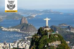 Um Dia no Rio - Cristo Redentor em Van, Pão de Açúcar, Maracanã, Sambódromo, Catedral e Selarón com almoço