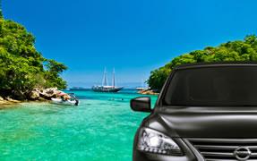 Transfer Rio de Janeiro x Angra dos Reis mit Deutschsprachigem Driver Guide - Preis p. Fahrzeug 1-3 Passagiere