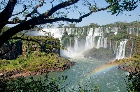 Iguassu – Argentinian Side of the Falls (From Argentina)