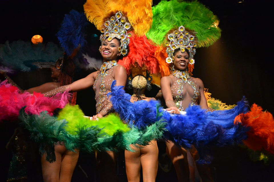 Rio by Night Folklore Show Ginga Tropical - from Barra da Tijuca