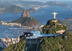 Helicopter Flight over Rio de Janeiro - 7-8 min - #2 Lagoa Helipad