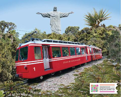 Christ the Redeemer Train Ticket - Ingresso com Desconto
