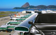 Transfer Hilton Copa  x Santos Dumont Airport (SDU) - Portuguese-Speaking Driver - Sedan 1-3 PAX - Price per Vehicle