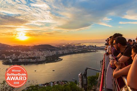 Sunset Experience - Christ The Redeemer, Cathedral, Selarón Steps and Sugarloaf at Sunset - From Barra da Tijuca
