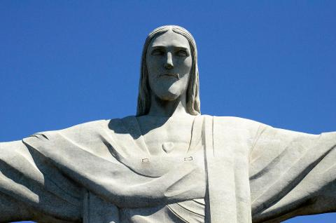 Christ the Redeemer by Van and Selarón Steps