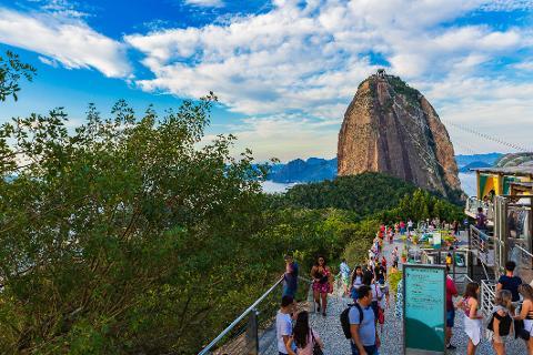 Excursão para Cruzeiros - Pão de Açúcar e Praia de Copacabana - saída Terminal de Cruzeiros Pier Mauá