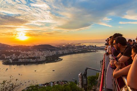 Rio Sunset Experience - Christ The Redeemer,  Cathedral, Selarón Stairs and Sugar Loaf at Sunset - From Barra da Tijuca
