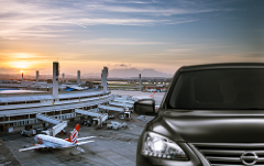 Private Transfer -  Hotels > Airport -  Price per Vehicle Van 3-8 passengers