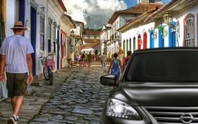 Transfer Rio de Janeiro x Paraty  - Preis p. Fahrzeug 1-3 Passagiere