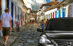 Transfer Rio de Janeiro x Paraty  with bilingual Driver Guide - Price per Vehicle Sedan 1-3 passengers