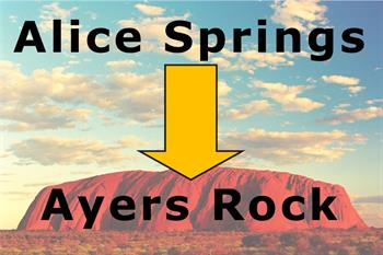 Uluru Transfer – Alice Springs to Ayers Rock Resort