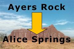 Uluru Transfer – Ayers Rock Resort to Alice Springs