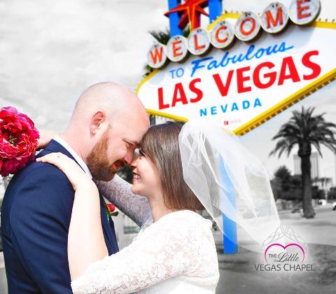 Signed, Sealed, Delivered @ Las Vegas Sign