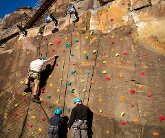 Young Adventurers Rock Climbing School (9 - 12 Years Old)
