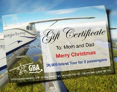 30,000 Island Tour - Gift Certificate