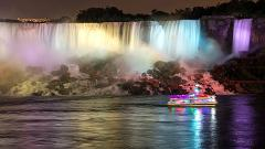Niagara Falls Evening Tour Without Buffet Dinner From Toronto