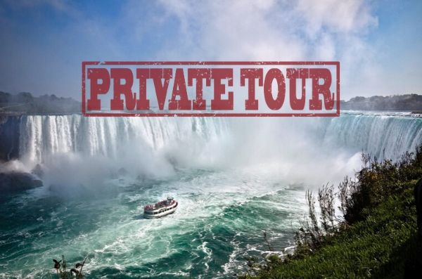 9 Hour Luxury Private Niagara Falls Day Tour ( 4 Guests )