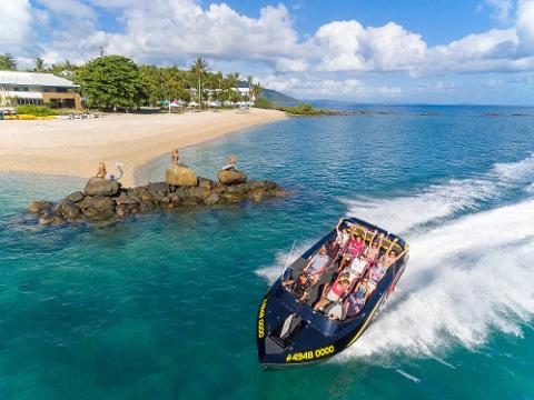 Island Jet Boating Charter - 1 Hour Tour Up To 12 Guests