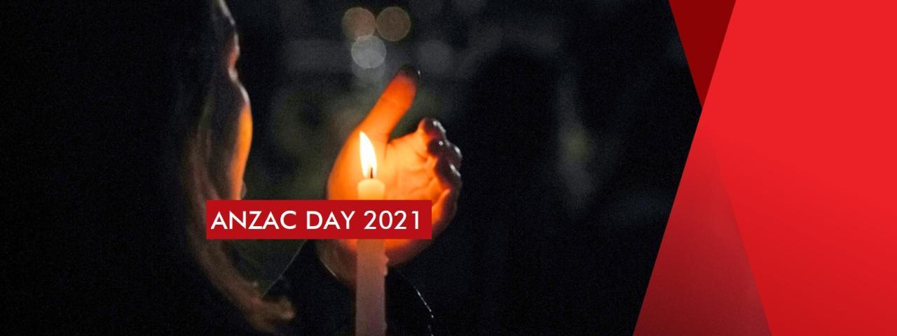 ANZAC Day 2021 Dawn Service - St Kilda Rd Entry