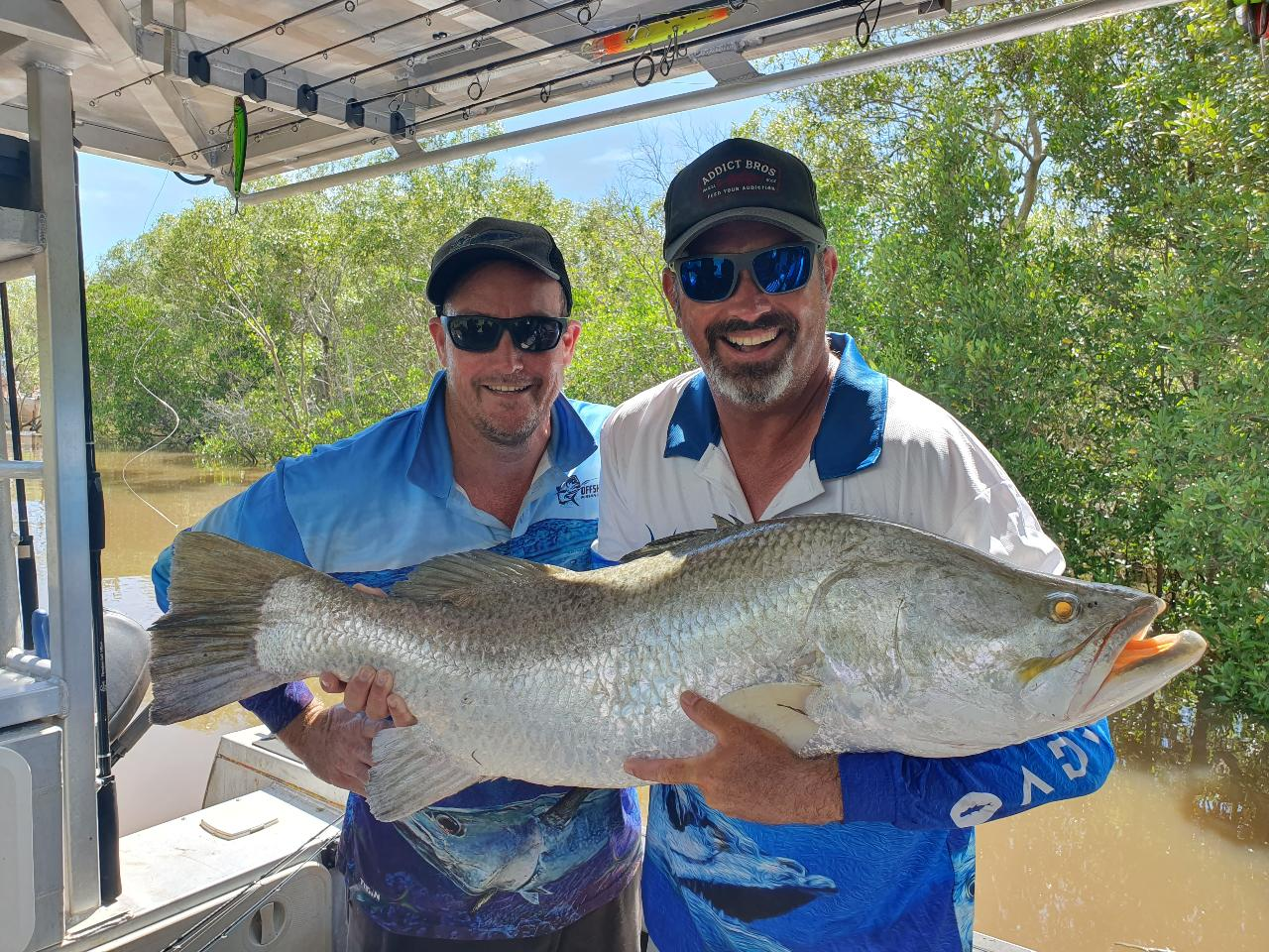 Full Day Barramundi Fishing Charter