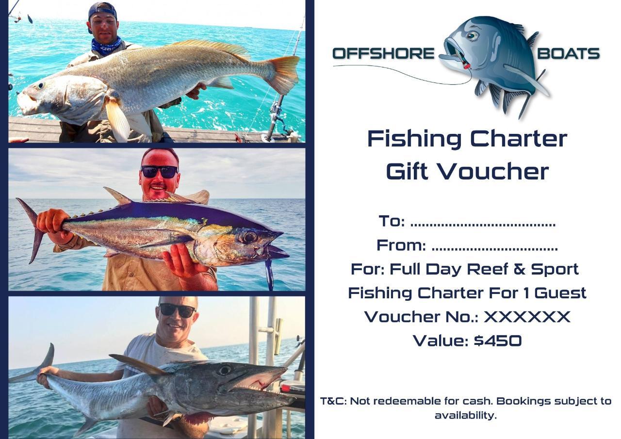 Gift Voucher - Full Day Fishing Charter