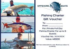 Gift Voucher - Private Full Day Fishing Charter