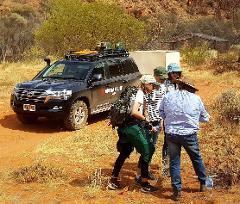 Ewaninga, Chambers Pillar and Oak Valley Aboriginal Cultural Experience VIP Tour