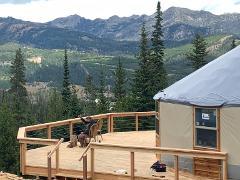 Montana Dinner Yurt - Summer