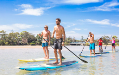 Cultural Stand Up Paddling: Coffs Creek