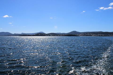 Morning cruise Tasmania Australia