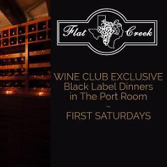 WINE CLUB EXCLUSIVE - Black Label Dinner