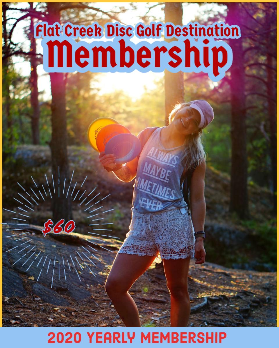 Disc Golf Yearly Membership