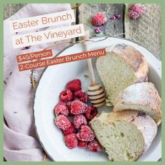 Easter Brunch at The Vineyard