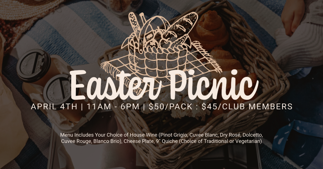 Outdoor Easter Picnic