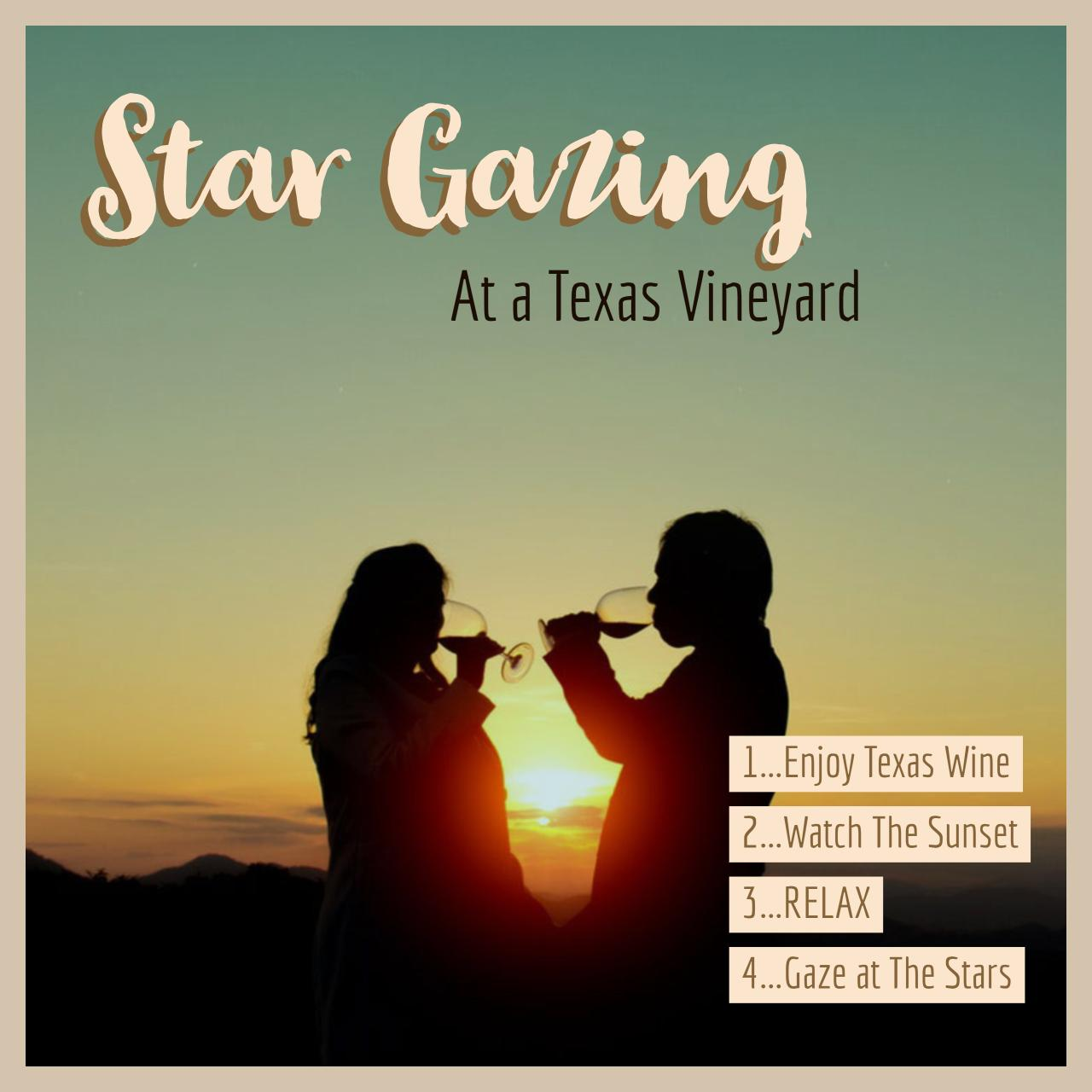Star Gazing in The Vineyard