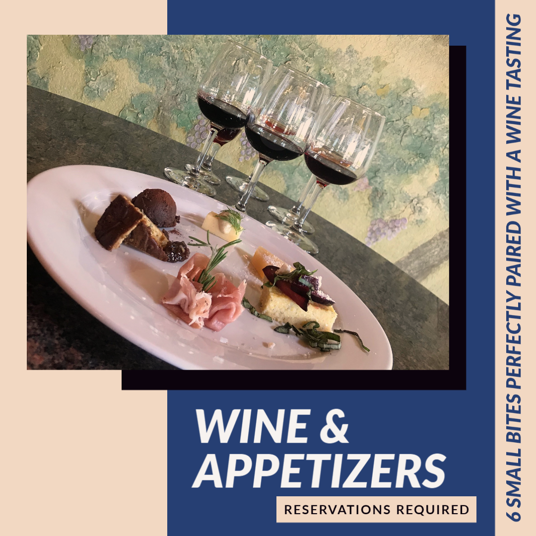 The Wine & Appetizer Experience