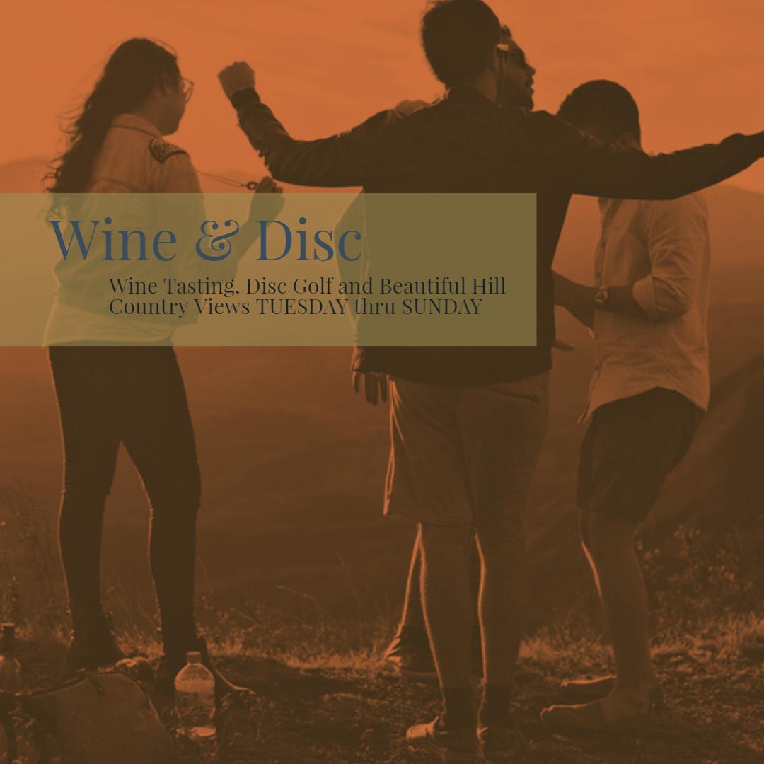 Texas Wine & Disc Experience